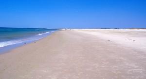 Ilha de cabanas tavira 300x162 Praia da Ilha de Cabanas (Tavira) (Parque Natural da Ria Formosa) (**)
