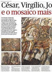 Alter do Chão César, Virgílio, Joviano, António e o Mosaico mais Belo do Império Romano descoberto em Alter do Chão