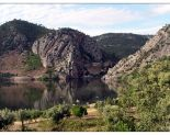 Portas de Rodão no rio Tejo