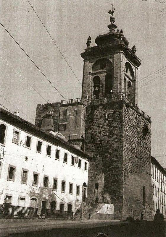 Torre de Santa Cruz- coimbra antiga