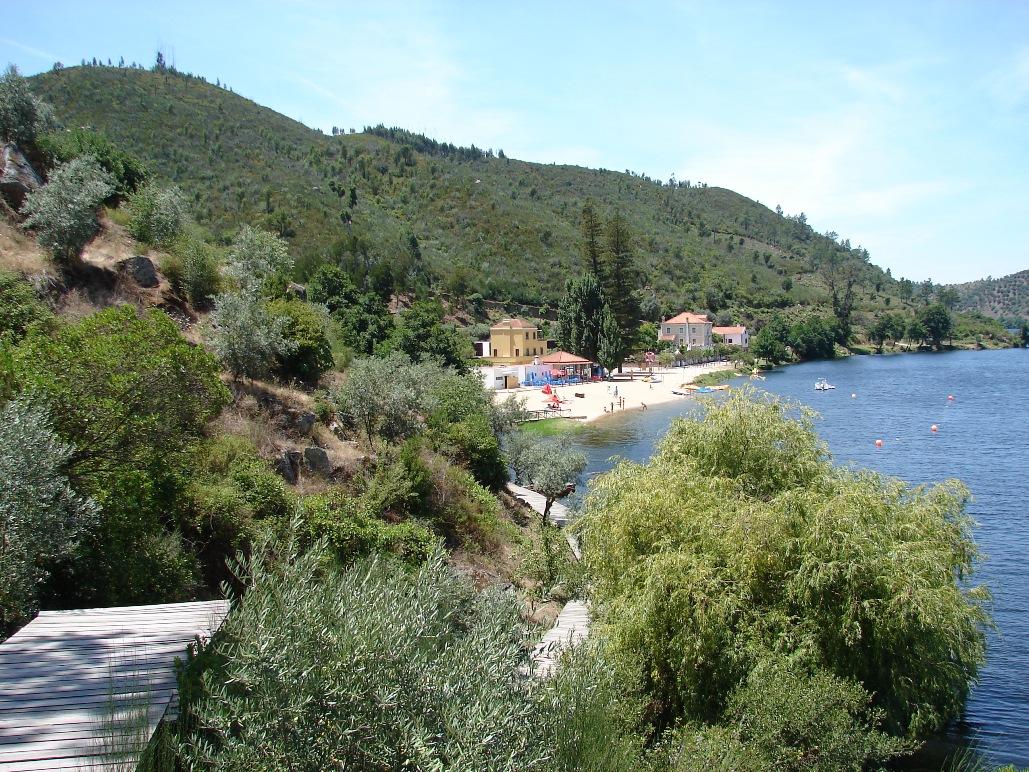 Praia Fluvial do Alamal no rio Tejo (Belver-Gavião) (**)