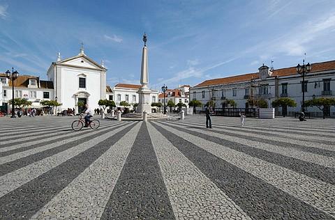 Set Pombalinos Buildings Of Vila Real De Santo Ant 243 Nio