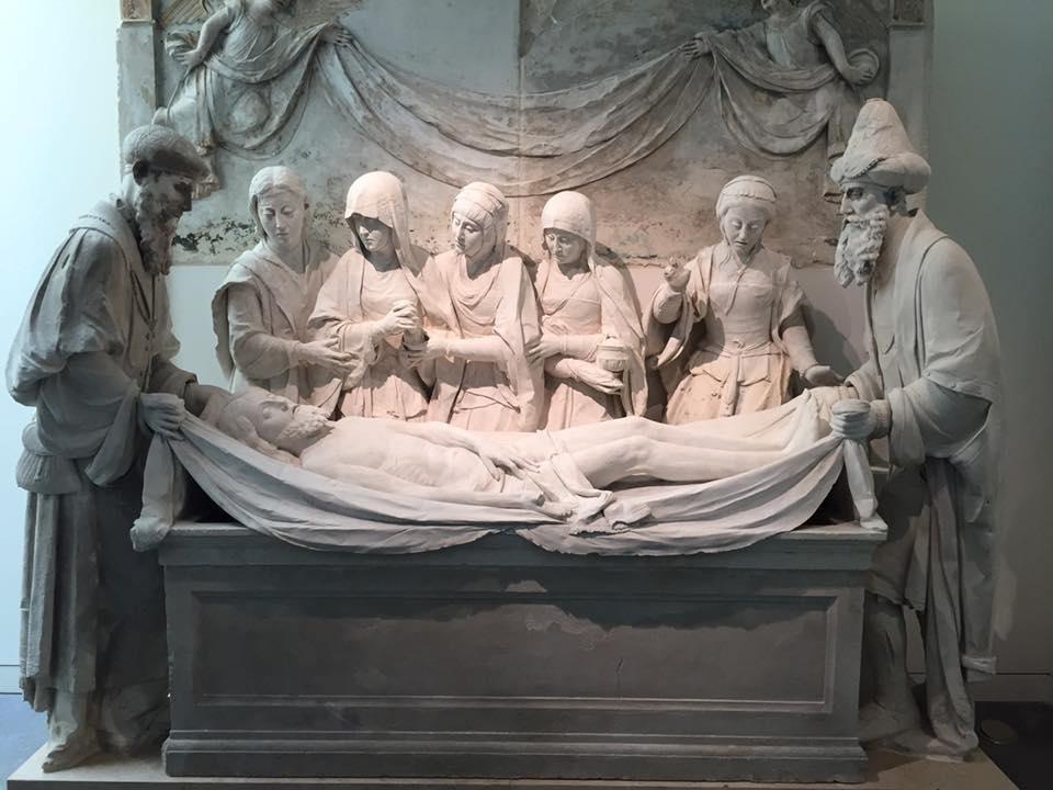 Coimbra. Le dépôt dans la tombe. Jean de Rouen. Musée Machado de Castro