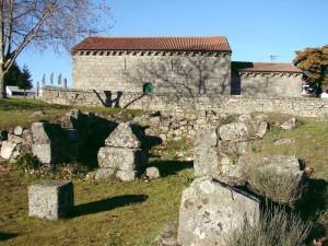 igreja e vila romana do mileu guarda 300x225 Estação Arqueológica da Póvoa do Mileu (Guarda) (*) um enigma na cidade da Guarda