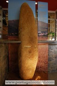 Museu Arqueológico do Fundão com a Estela menir das Corgas