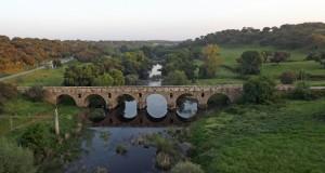 ponte romana vila formosa 2 300x160 Ponte Romana de Vila Formosa (Alter do Chão) (**)  A mais monumental ponte romana de Portugal