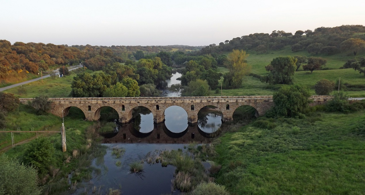 Ponte Romana de Vila Formosa (Alter do Chão) (**)- Le pont romain plus monumentale du Portugal