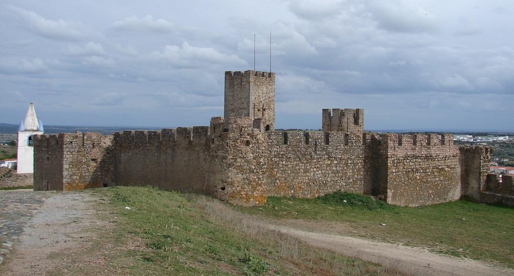 Arraiolos Portugal  city photo : Castelo de Arraiolos o mais circular de Portugal