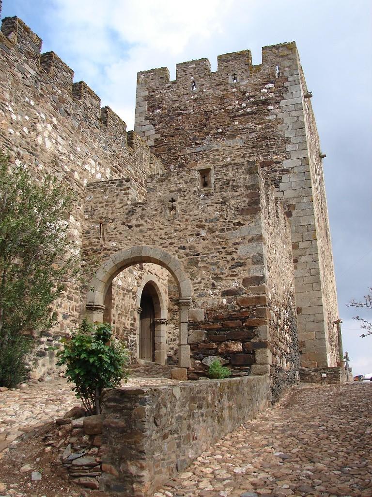 Terena château entrée
