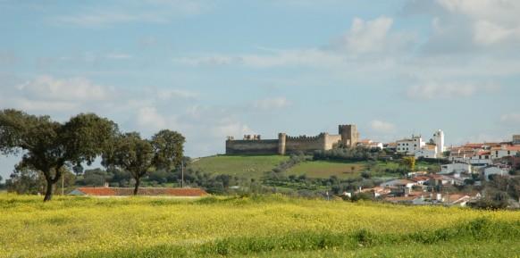 Château de Terena (Alandroal) (**)- Le territoire de Lucéficit