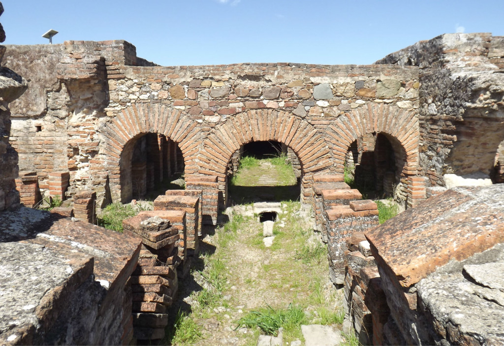 ruines romaines STOMPS hypocauste 2