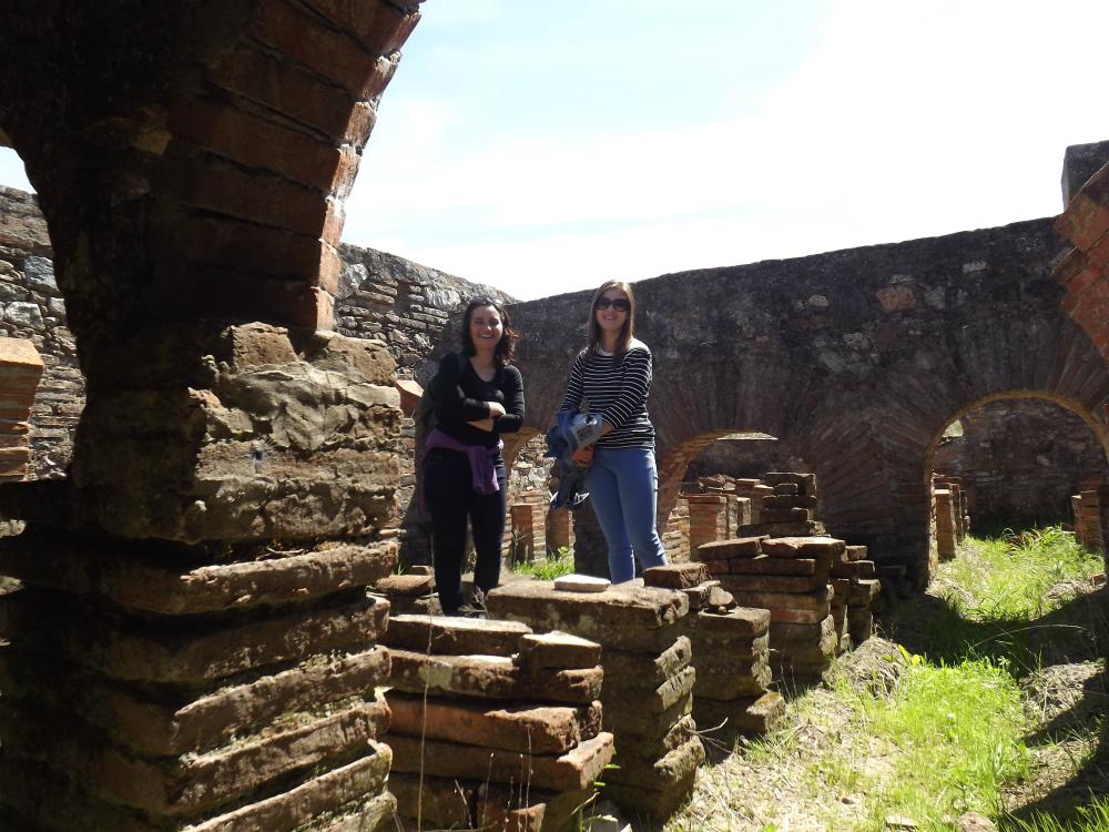 roman ruins of pisões
