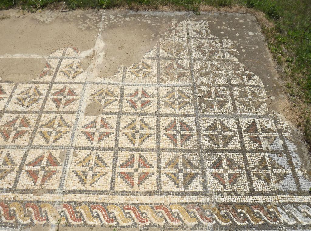 ruínas romanas pisões mosaicos beja