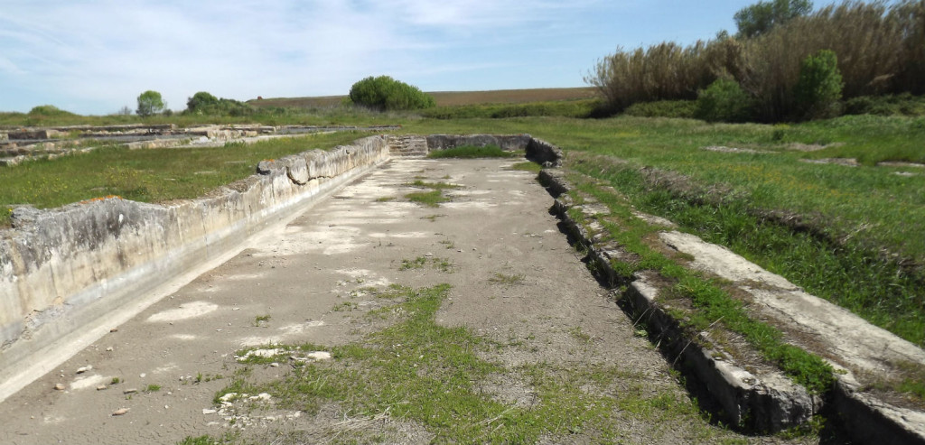 ruines romaines STOMPS piscine