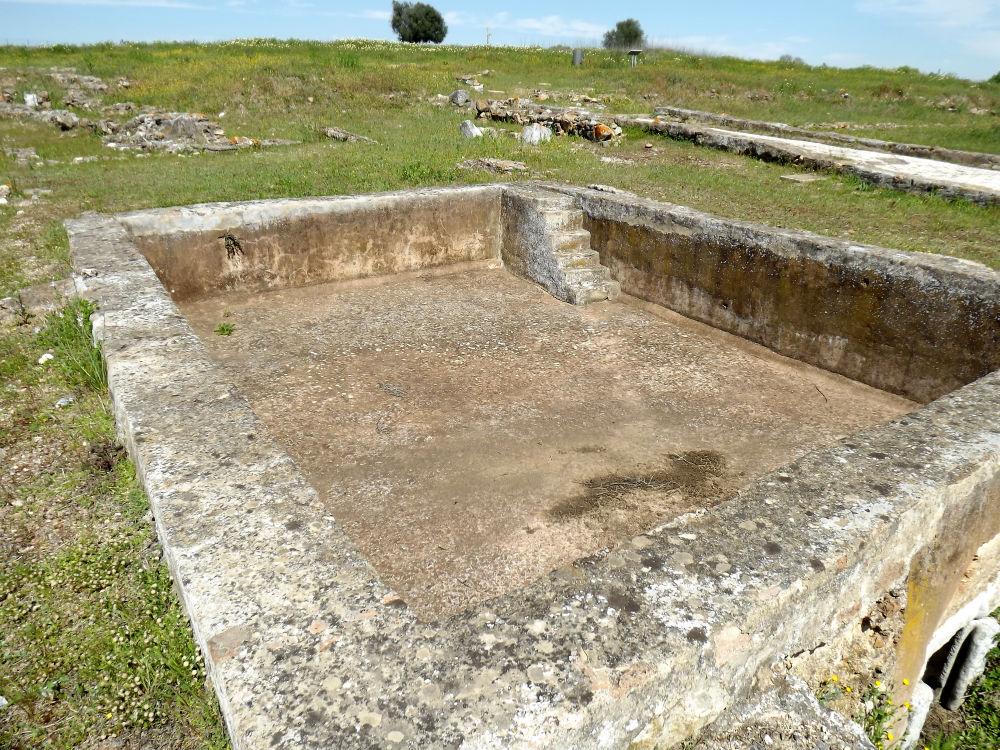 ruínas romanas pisões piscina beja