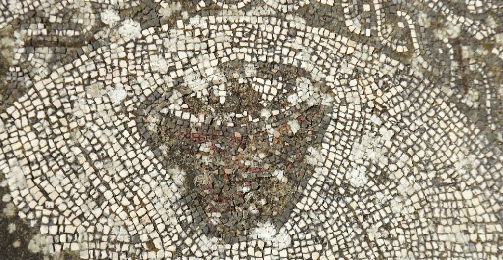 ruínas romanas pisões vaso