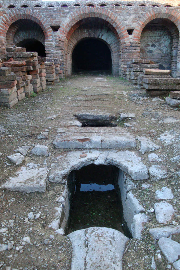 ruínas romanas pisõesHipocausto-II