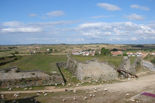 Forte de Almeida: Vistas suaves sobre a paisagem (*)