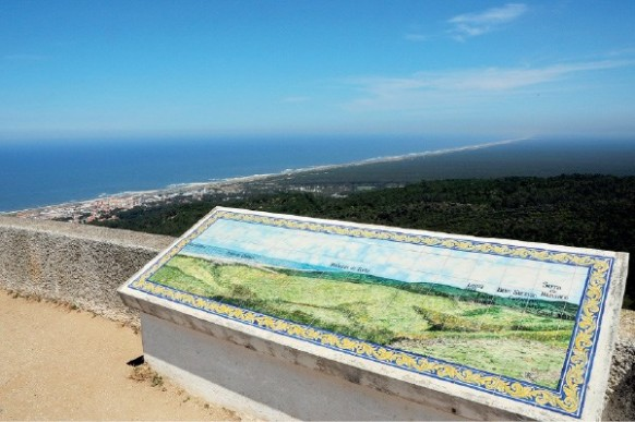 Drapeau de point de vue (Figueira da Foz) (*) – L'un des plus beaux sites de la Finisterra portugaise