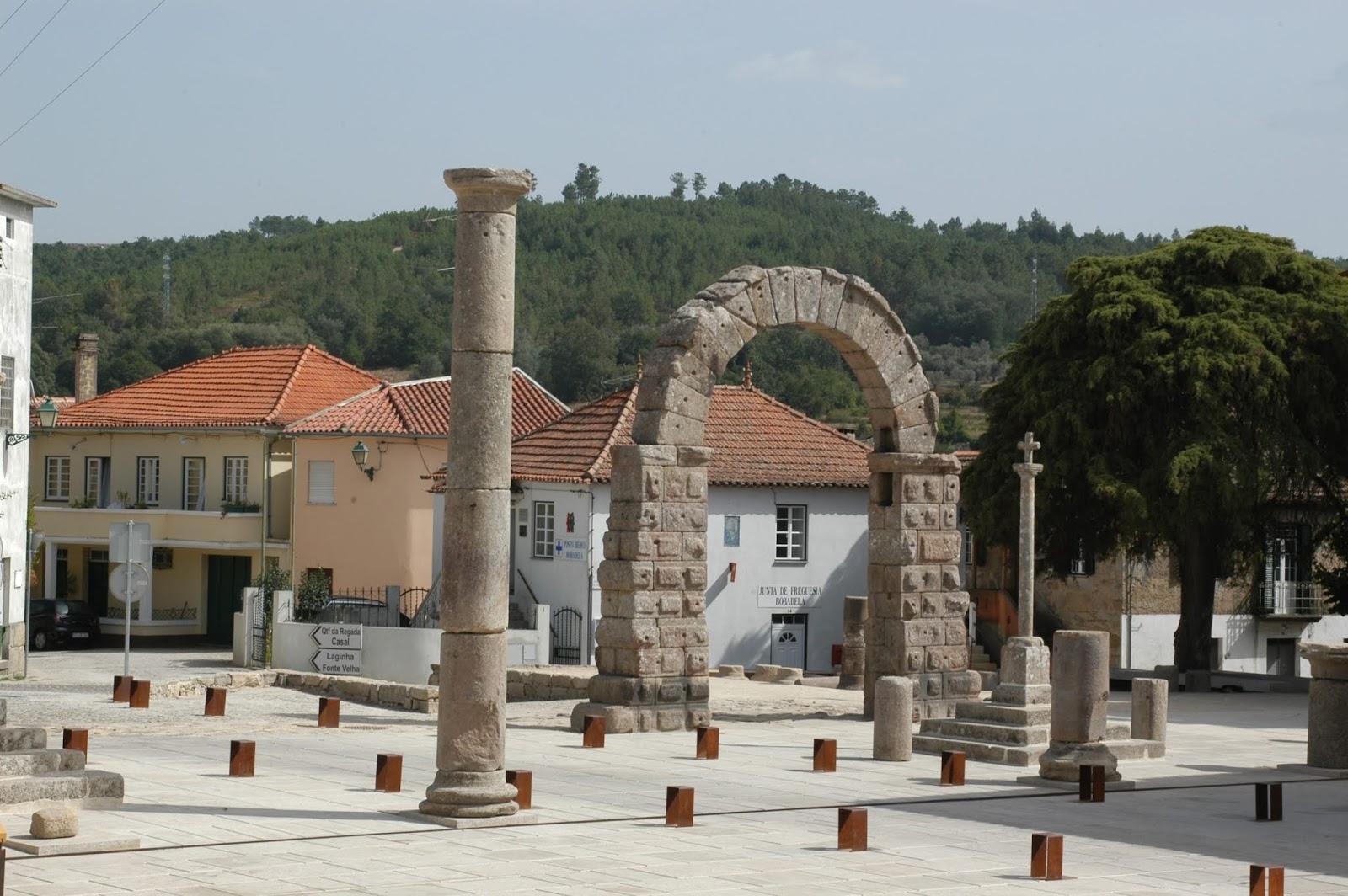 arco romano de Bobadela